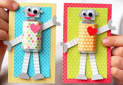 20 Homemade Valentines Day Cards for Kids – Valentines Day Card Kids