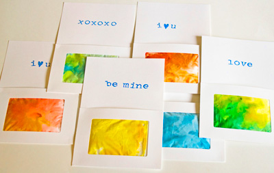 Shaving Cream Valentines Day Cards By Modern Parents Messy Kids