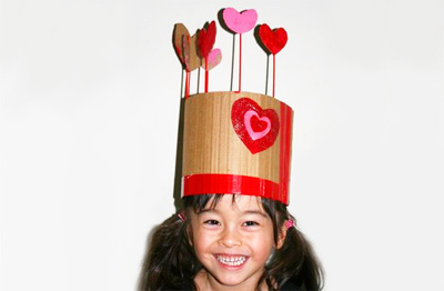 Valentine's Day crowns by Filth Wizardry