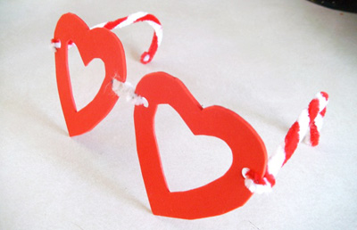 Valentines Day Heart Glasses By Mom Tried It