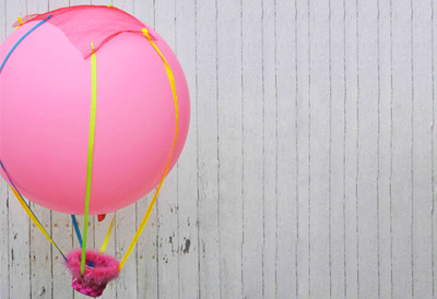 Homemade hot air balloon by BKids Crafts