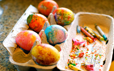 Hot rock Easter Eggs by Full Circle