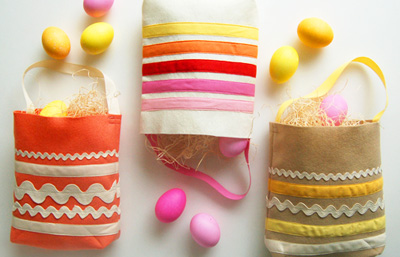 Easter DIY Egg Hunt Bag by The Purl Bee