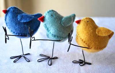 Easter DIY Felt Chicks by Myrtle & Eunice