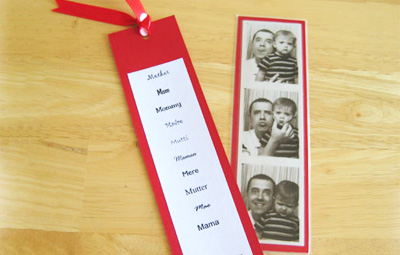 DIY Mother's Day Bookmark by Make and Takes