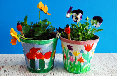 DIY Mother's Day Planters by That Artist Woman