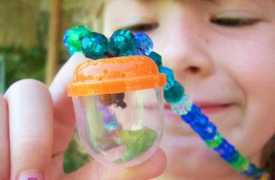 DIY bug catcher necklace for kids by Whimsy Love