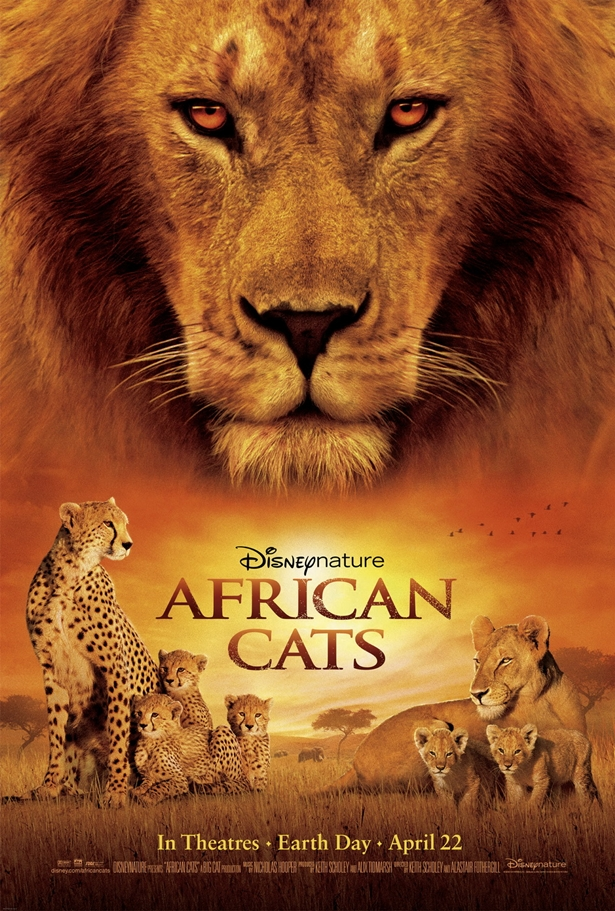 African Cats Documentary DVD cover
