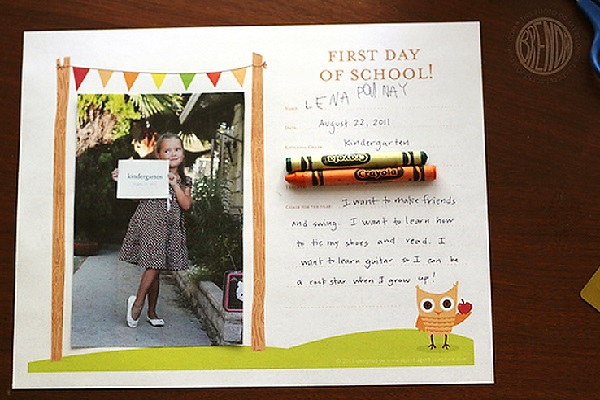 Awesome Ideas for First-Day-of-School Photos   ParentMap