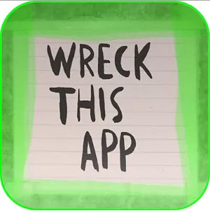 Wreck this App Creative Art App for Kids Google Android