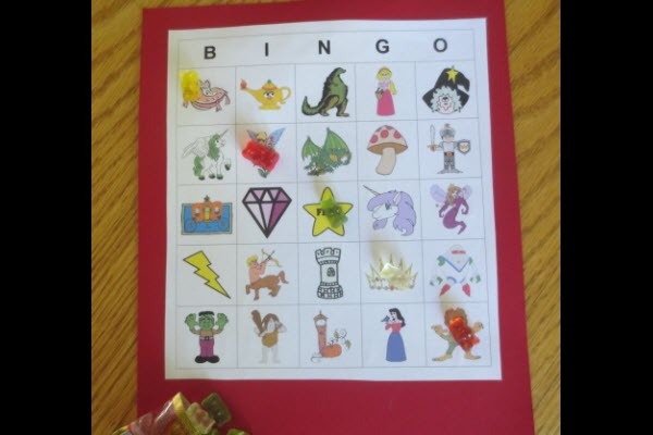 Indoor Party Games For Kids Custom Bingo