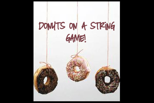 Indoor Party Games | Eat the Doughnut