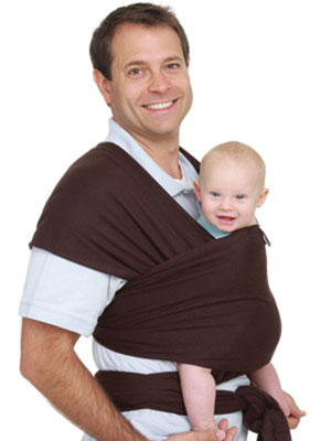 Moby Carriers are useful for new dads