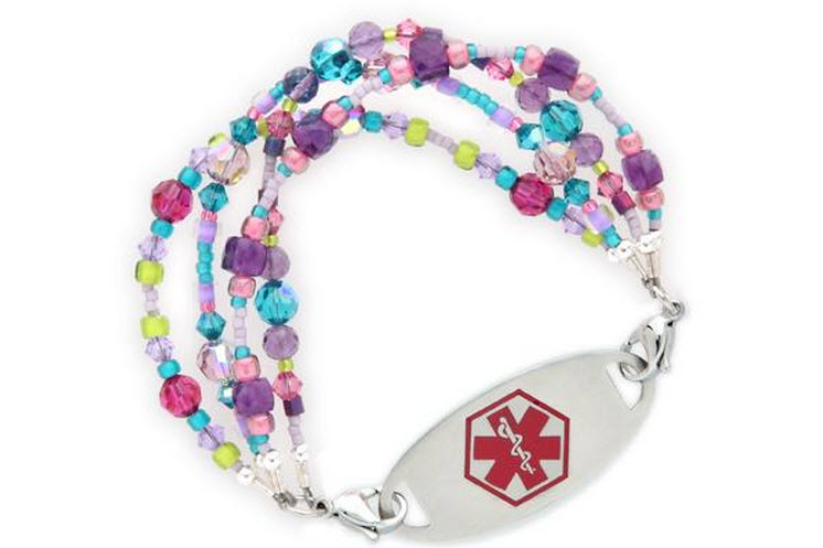 Medical Bracelets Color Riot By Lauren S Hope
