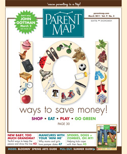 March 2011 ParentMap Issue