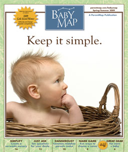 BabyMap Cover Spring 2009