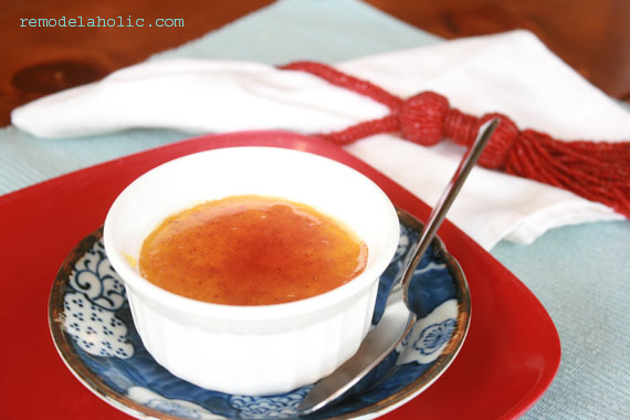Creme Brulee aphrodisiac recipes for Valentine's day