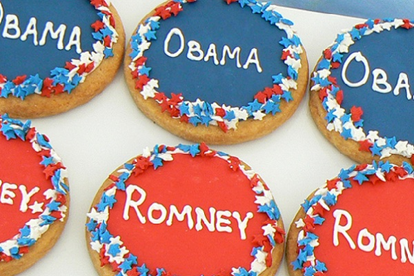Presidential button cookies