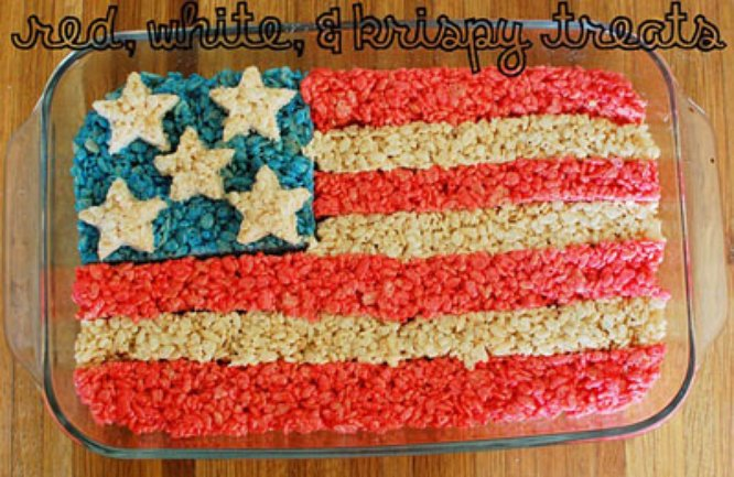 Red, white, and krispy
