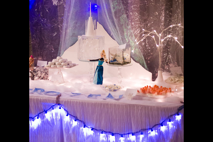 frozen birthday party ideas elsa decor