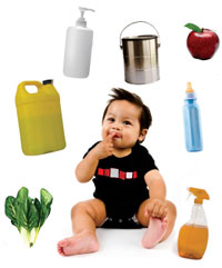 Babies and toxins