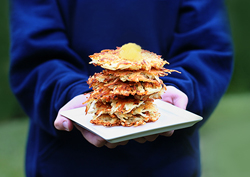 Hanukkah latkes, 5 second rule blog