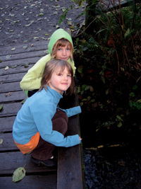 Kids at Piper's Creek