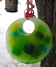 Solstice ice sun catcher by A Magical Childhood
