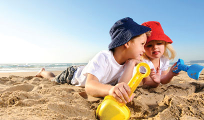 Beach safety tips for kids