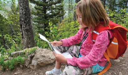 Camping with kids in the North Cascade Mountains