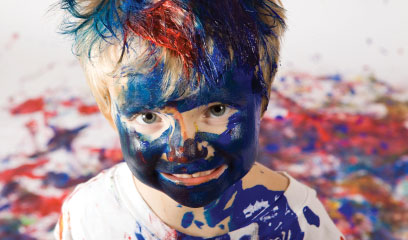 Encouraging your child to be creative through art