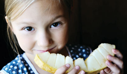 Encouraging kids to eat healthy foods