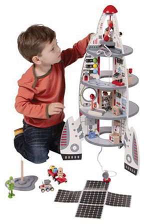 Discovery Spaceship Play Set by Educo
