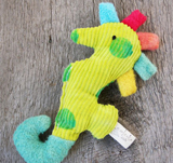 Eco-friendly baby ratttle by Ecoleeko on Etsy