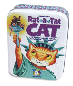 Rat-a-Tat Cat by Gamewright