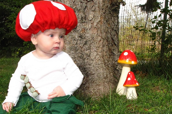 baby toad - Diy Halloween Baby Costumes