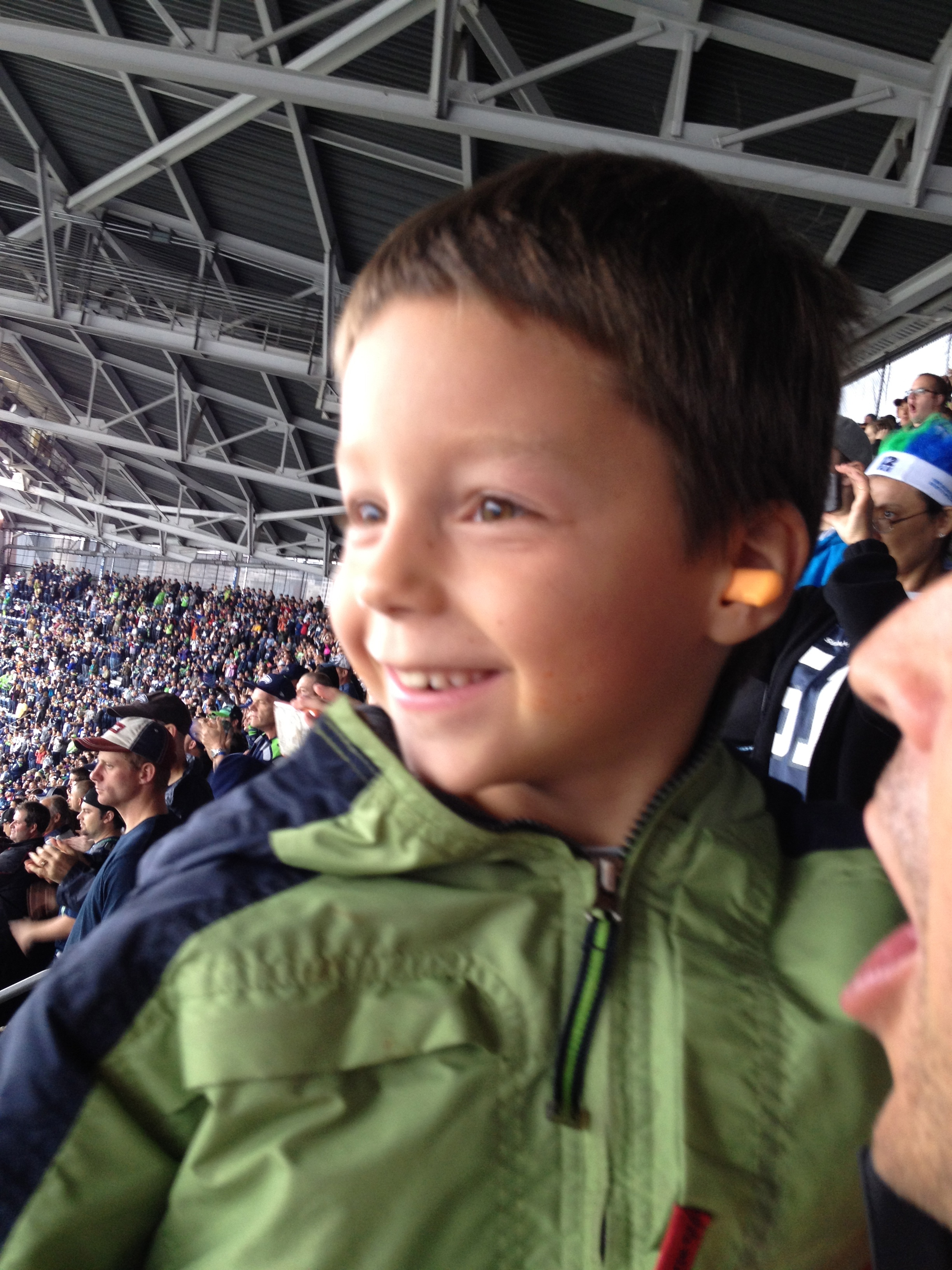 Seahawks Game Ear Plugs Prevent Noise Damage Kids
