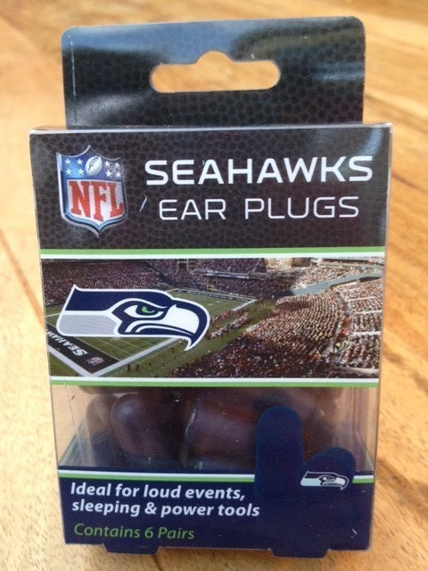 Seahawks Hearing Protection