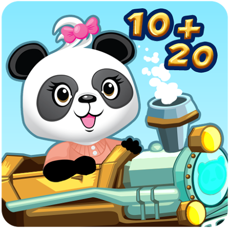 Lola's math train app for kids