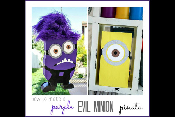 Birthday Party Ideas Despicable Me Minion Pinata