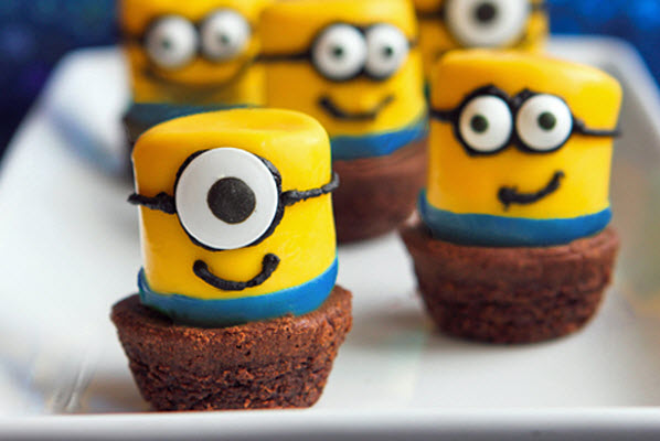 Birthday Party Ideas Despicable Me Minion Marshmallows