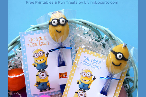 Birthday Party Ideas Despicable Me Minion Candy Spoon
