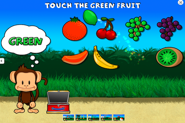 Preschool prep monkey lunchbox app