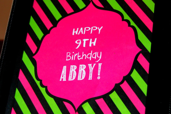 glow in the dark  neon birthday party ideas  parentmap, party invitations