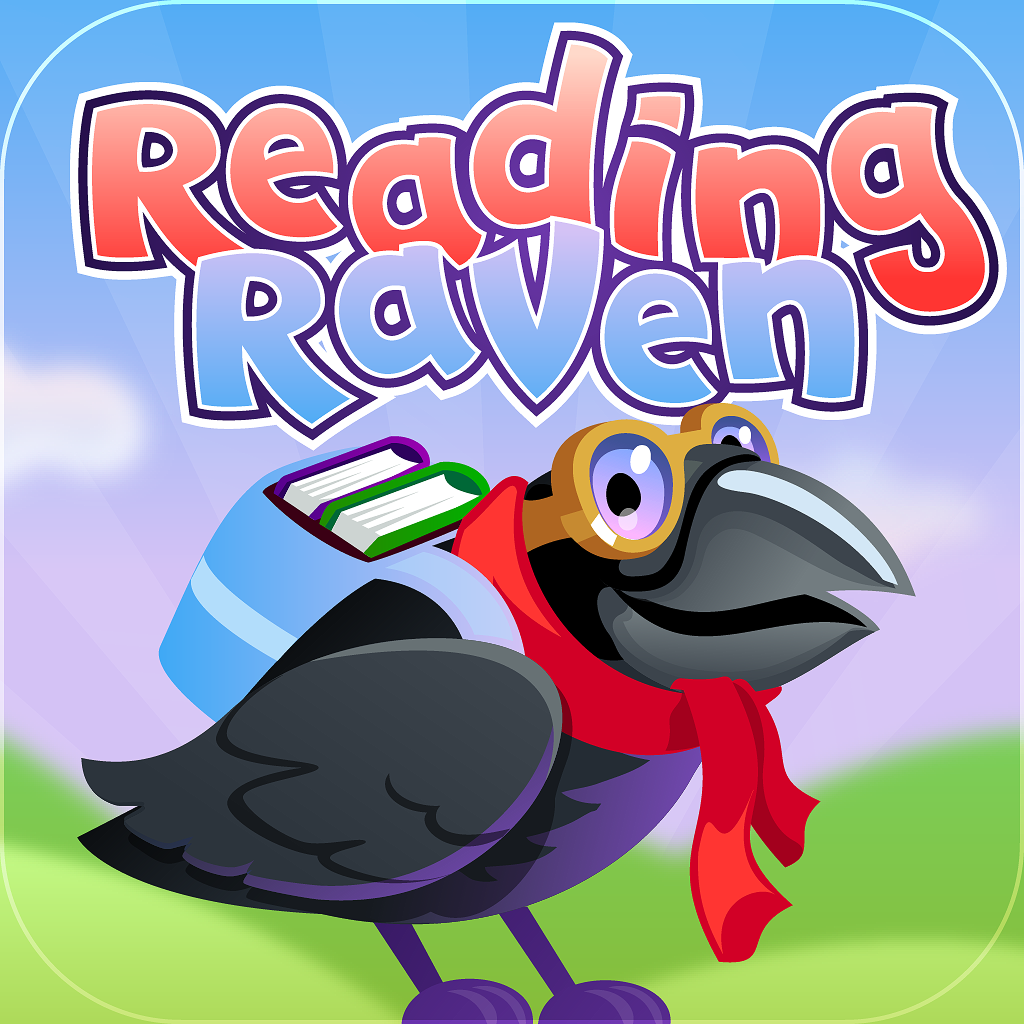 Reading Raven apps for kids ipad