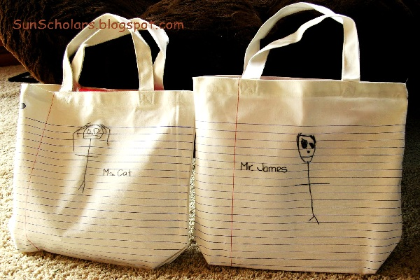 Teacher-inspired tote by Sun Scholars