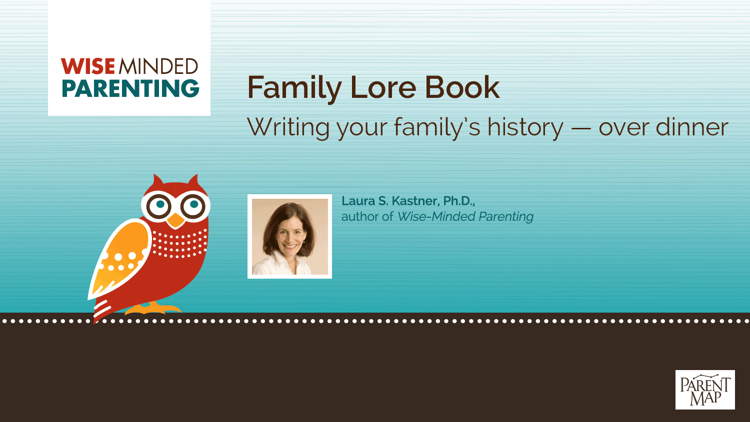 Family Lore Book: Writing your family's history — over dinner