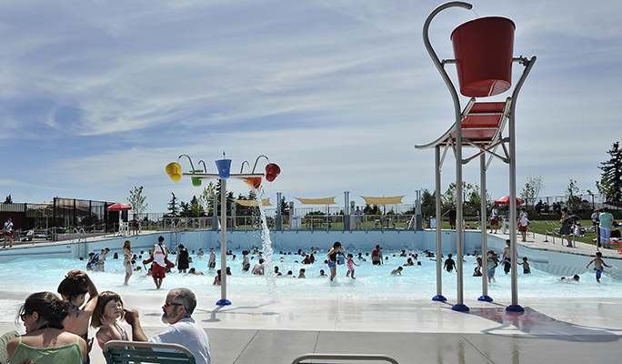 Summer Swimming Outdoor Pools And Water Parks Around