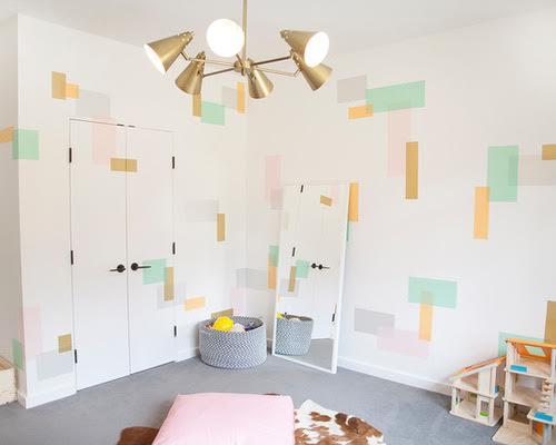 7 kids 39 bedroom decor ideas that won t break the bank for Houzz kids room