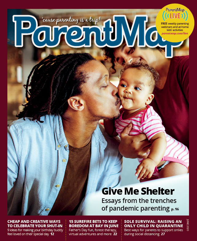 June issue of ParentMap
